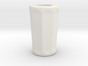 Matt Smith Sonic Screwdriver Grip in White Natural Versatile Plastic