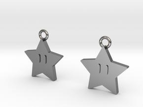 mario star v2 in Polished Silver