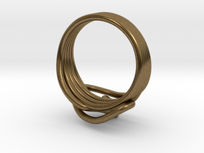 HeliX Love & Life Ring - Ring in Natural Bronze