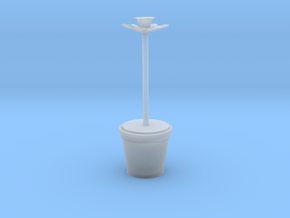 Daffodil Plant Model In Plant Pot  in Smooth Fine Detail Plastic