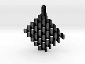 20140213 Vintage Necklaces 3.0 in Matte Black Steel