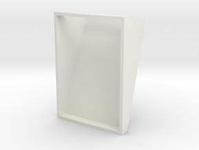 Coin Return Back Slot 1:1 in White Natural Versatile Plastic