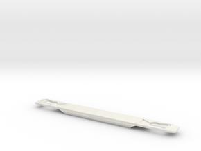 DE1 Chassis in White Natural Versatile Plastic