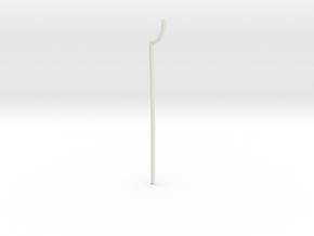 Necro-Scythe Hilt in White Natural Versatile Plastic