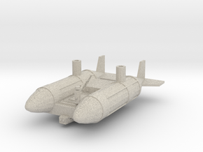 Hango-maimu Cargo Dirigible in Natural Sandstone