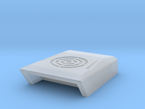 1/64th 'Scoop' Air Conditioner vent for cab roof in Smooth Fine Detail Plastic