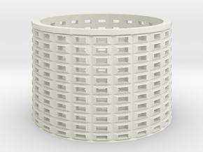 peg basket in White Natural Versatile Plastic