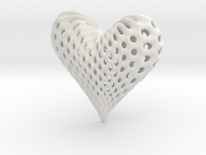 oh my heart ! in White Natural Versatile Plastic