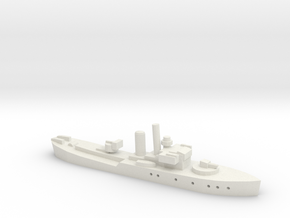 HMS Buttercup (Flower class)  1/1800 in White Natural Versatile Plastic
