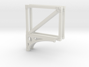 T1 24 Truss x 2 in White Natural Versatile Plastic