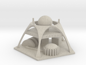 Martian Power Plant in Natural Sandstone