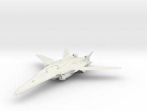 Macross VF-25 in White Strong & Flexible