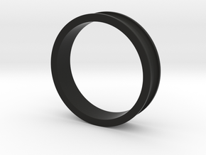 "1 1/2"" Headset spacer 10mm in Black Natural Versatile Plastic"