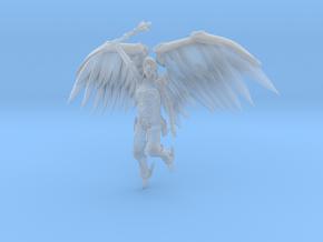 28mm Metal Angel in Smooth Fine Detail Plastic