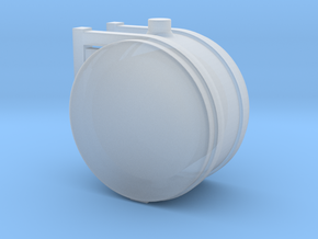 1/64th Scale 25 Gallon Hydraulic or Fuel tank in Smooth Fine Detail Plastic