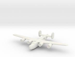 1/600 B24 Liberator in White Natural Versatile Plastic