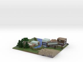 Old Minecraft towncenter. in Full Color Sandstone