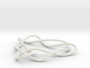 knot 8-2 100mm in White Natural Versatile Plastic