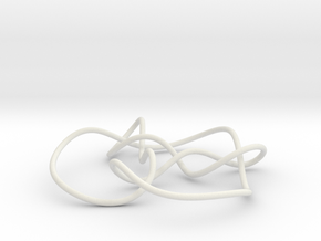knot 8-15 100mm in White Natural Versatile Plastic