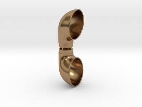 Cowl Vent, .750inch Tube Size in Natural Brass