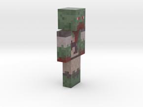 6cm   Zombie_Boss in Full Color Sandstone