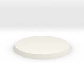 30mm Base in White Natural Versatile Plastic