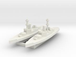 Amphitrite 1:2400 x2 in White Natural Versatile Plastic