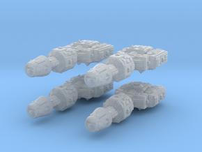1/2256 Correllian Gunship 4X in Frosted Ultra Detail