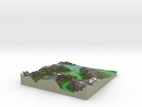 Terrafab generated model Mon Feb 24 2014 21:28:51  in Full Color Sandstone