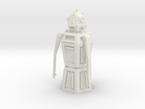 R04 Sentry Robot in White Strong & Flexible