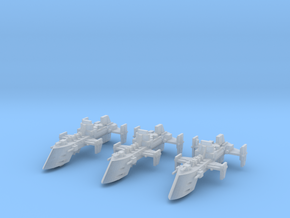 Cobra Destroyers (3) in Smooth Fine Detail Plastic