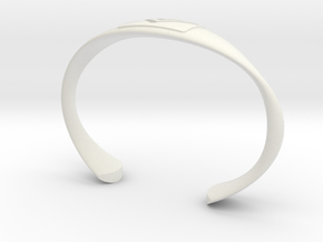 summit series bracelet in White Natural Versatile Plastic