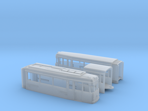 Tram Gotha G4 67 Spur N (1:160) in Smooth Fine Detail Plastic