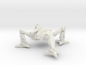 Mecha- Arachnid II (1 285th, mm) Multi Part in White Strong & Flexible