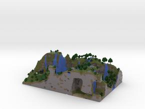 Waterfall Vale in Full Color Sandstone