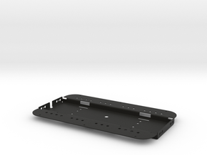 Solarpad Bracket in Black Natural Versatile Plastic