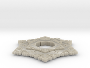Cesaro Snowflake - 4 in White Acrylic