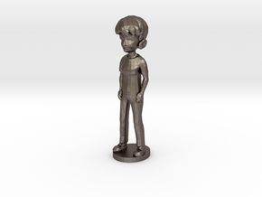 ShapeMe in Polished Bronzed Silver Steel