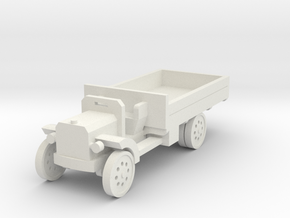 1/144th Peerless 4 Ton Lorry in White Natural Versatile Plastic