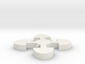 AKOMA NTOSO in White Natural Versatile Plastic