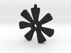 ANANSE NTONTAN in Black Acrylic