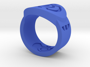 Blue Hope FF Ring Sz 7 in Blue Processed Versatile Plastic