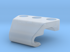 Cable Holder 1 in Smooth Fine Detail Plastic