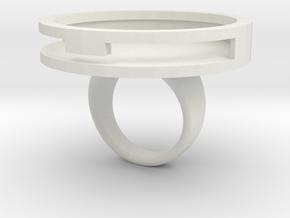 TD Token Ring holder size 12 in White Strong & Flexible