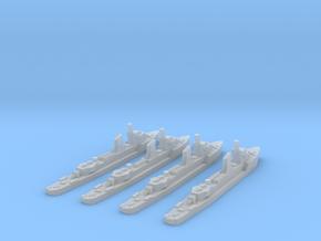 German Sleipner class (1/2400) x4 in Smooth Fine Detail Plastic
