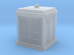 Tardis Iphone Speaker in Smooth Fine Detail Plastic