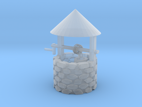 Wishing Well in Smooth Fine Detail Plastic
