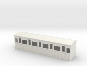 009 colonial 5 compartment 3rd  coach in White Natural Versatile Plastic
