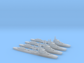 Le Brestois (L'Adroit class) 1/2400 x4 in Smooth Fine Detail Plastic