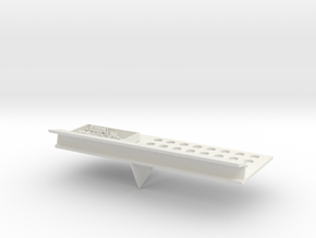 Custom Business Card Holder  in White Natural Versatile Plastic